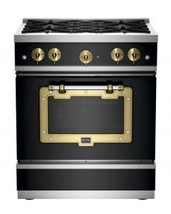30″ Classic Stove Classic Collection Matte Black