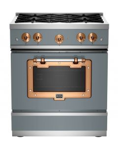 """30"""" Classic Stove Classic Collection Premium Telegray 7046-Brushed Copper"""