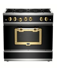 36″ Classic Stove Classic Collection Matte Black