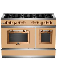 "48"" Classic Stove Classic Collection Ochre Yellow 1024 Brushed Copper"