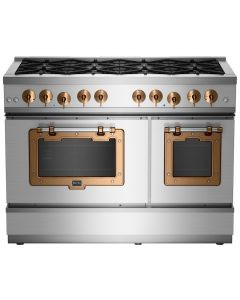 "48"" Classic Stove Classic Collection Stainless Steel Brushed Copper"