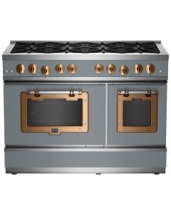 """48"""" Classic Stove Classic Collection Premium Telegray 7046-Brushed Copper"""