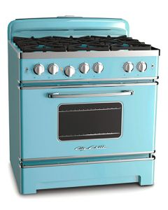 36″ Retro Stove Retro Collection Beach Blue