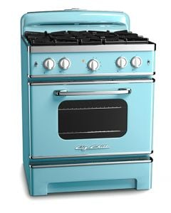 30″ Retro Stove Retro Collection Beach Blue