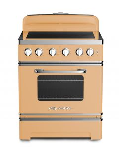 "Retro 30"" Induction Range Retro Collection Beige 1001"