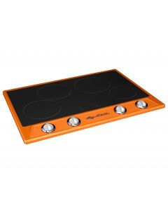 Retro Induction Cooktop Retro Collection Premium Orange
