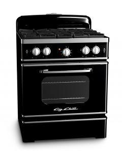 30″ Retro Stove Retro Collection Premium Black
