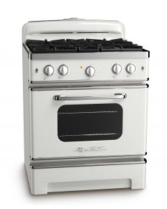 30″ Retro Stove Retro Collection Classic White