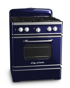 30″ Retro Stove Retro Collection Premium Cobalt