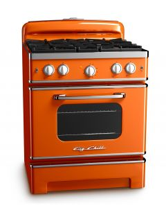 30″ Retro Stove Retro Collection Premium Orange