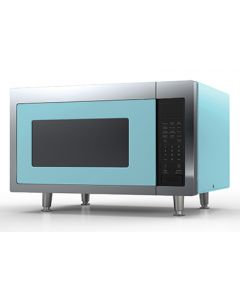 Retro Microwave Retro Collection Beach Blue