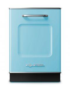 Retro Dishwasher Retro Collection Beach Blue