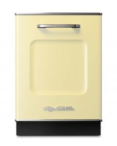 Retro Dishwasher Panel Retro Collection Buttercup Yellow
