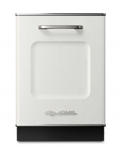 Retro Dishwasher Panel Retro Collection Classic White