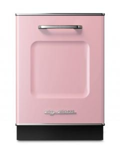 Retro Dishwasher Panel Retro Collection Pink Lemonade