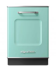 Retro Dishwasher Panel Retro Collection Turquoise