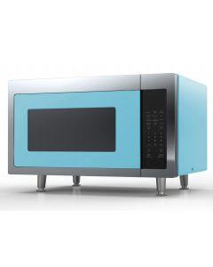 Retro Microwave Retro Collection Beach Blue
