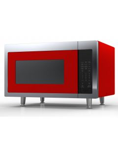 Retro Microwave Retro Collection Cherry Red