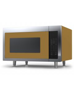 Retro Microwave Retro Collection Green Brown 8000