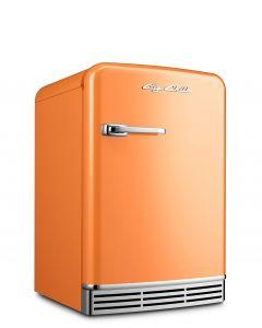 Mini Fridge Retro Collection Premium Orange