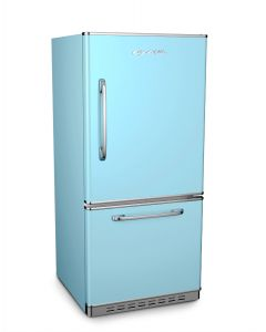 Retropolitan Fridge Retro Collection Beach Blue