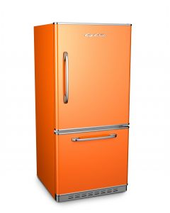 Retropolitan Fridge Retro Collection Premium Orange