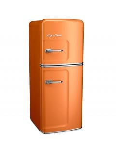 Slim Fridge Retro Collection Premium Orange