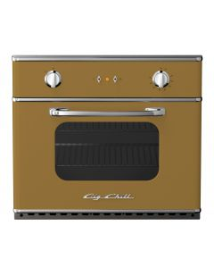"30"" Electric Wall Oven Retro Collection Green Brown 8000"