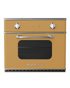 "30"" Electric Wall Oven Retro Collection Ochre Yellow 1024"