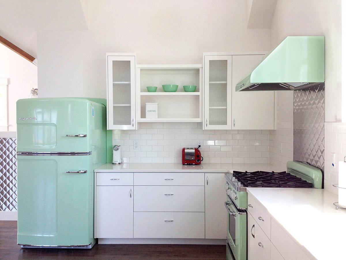 Retro Kühlschrank Big Chill : Küche vintage modern. küche antik modern spülbecken für outdoor