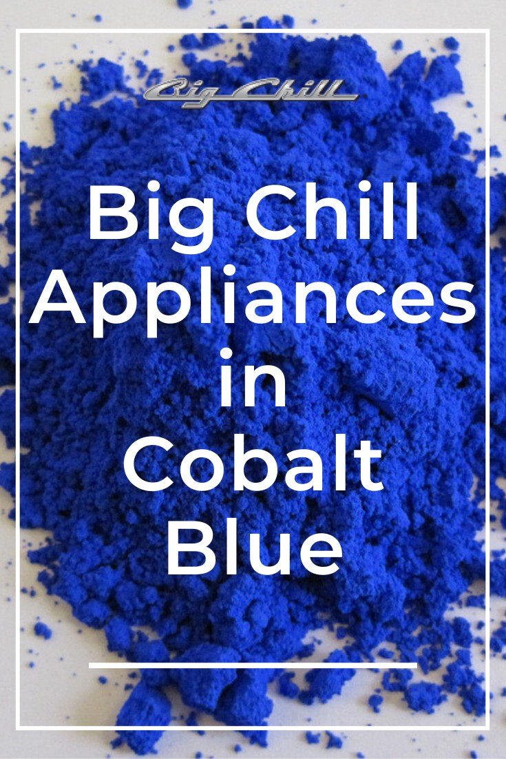 Big Chill Appliances in the Color Cobalt Blue