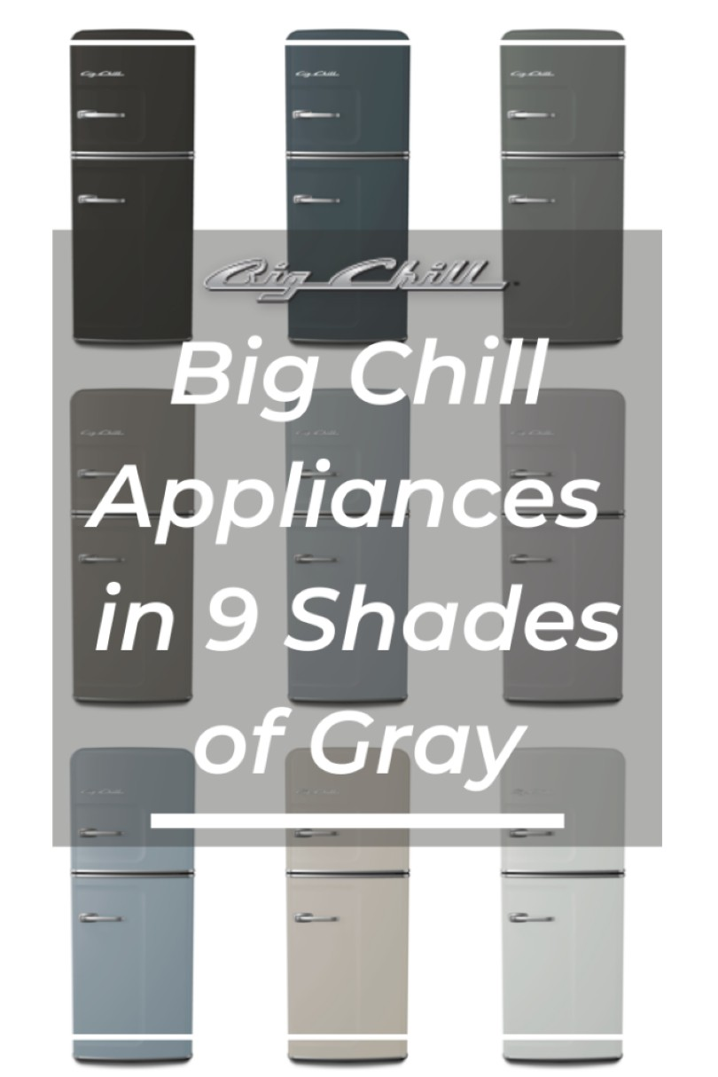 Big Chill Appliances in 9 Shades of Gray