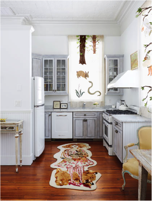 Big Chill Fridge Featured In Artist S Home