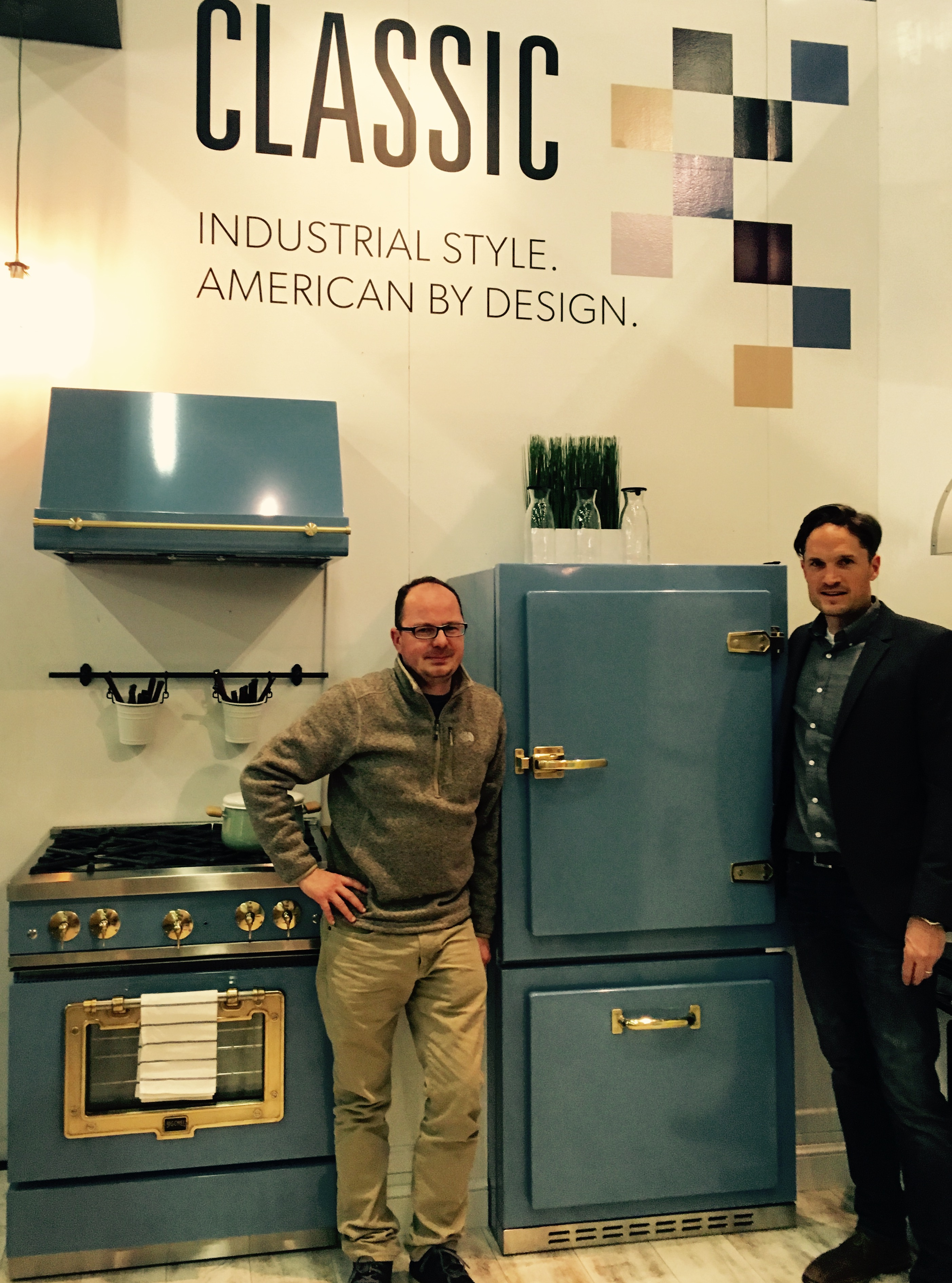 Big Chill at the 2016 Architectural Digest Design Show