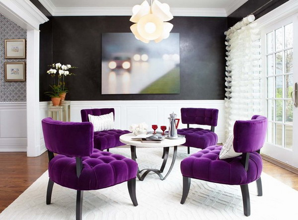 Coffee Break In Purple 2