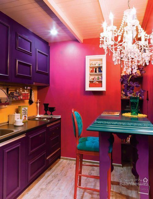 Here Is The Inspiration For The Liveliest Home Décor Expert. This Room Is  Just Bursting With Vibrant And Beautiful Colors! The Reason This Concept  Works So ...