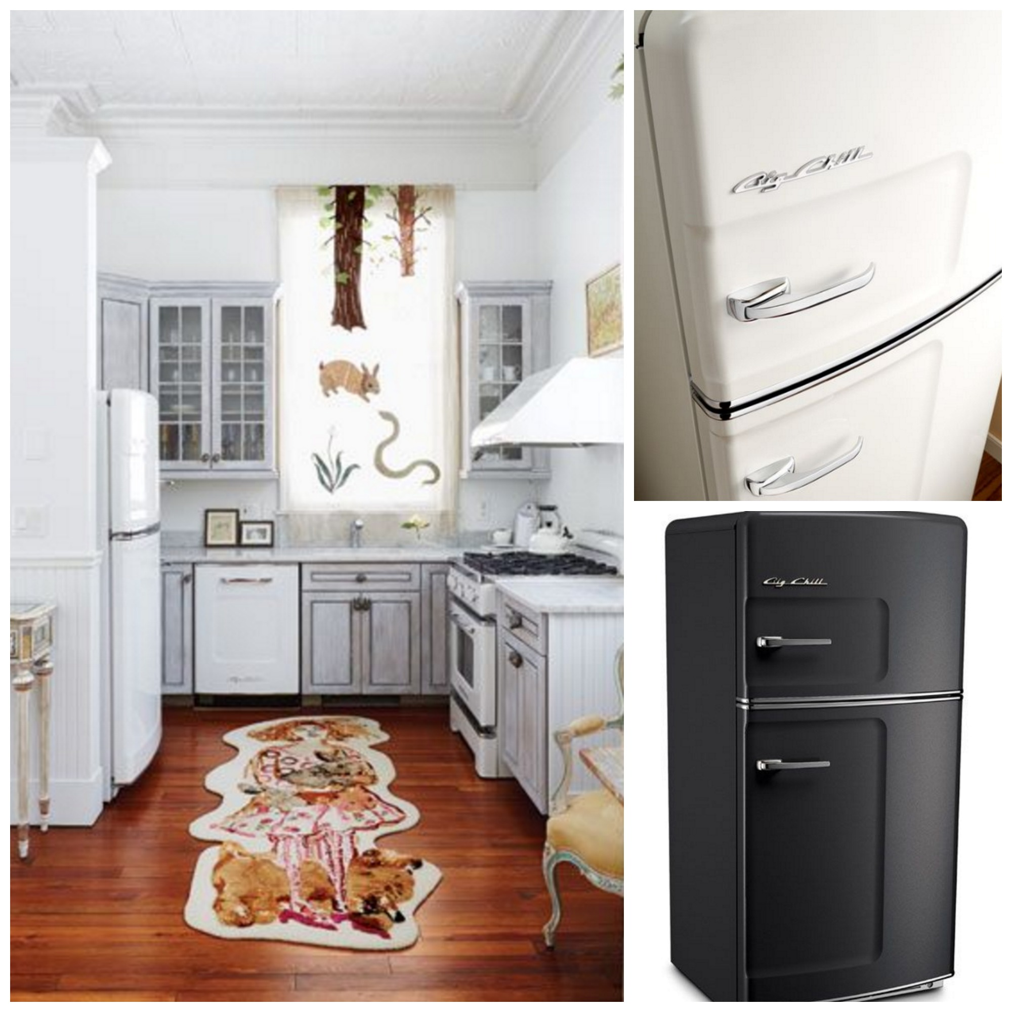 Fact: You Canu0027t Go Wrong With Black And White. If You Arenu0027t A Huge Fan Of  Color But Still Want To Maintain A Vintage Kitchen Aesthetic, A Black And  White ...