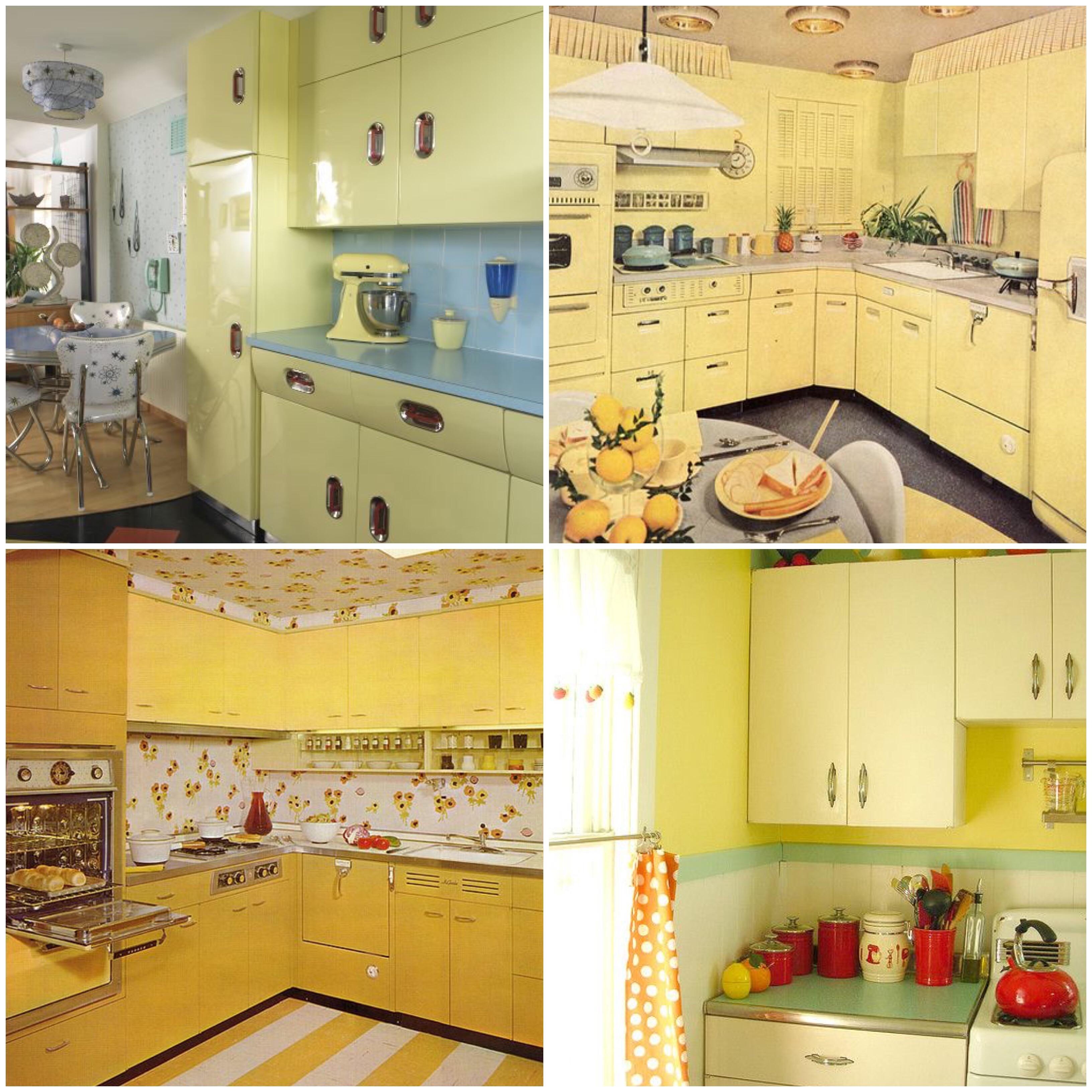 Rainbow Kitchen Decor: Taste The Rainbow: Vintage Kitchens Of Every Shade