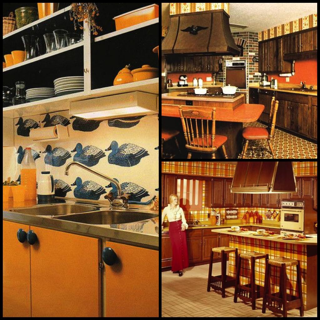 1970s Kitchens in Warm Autumn Tones