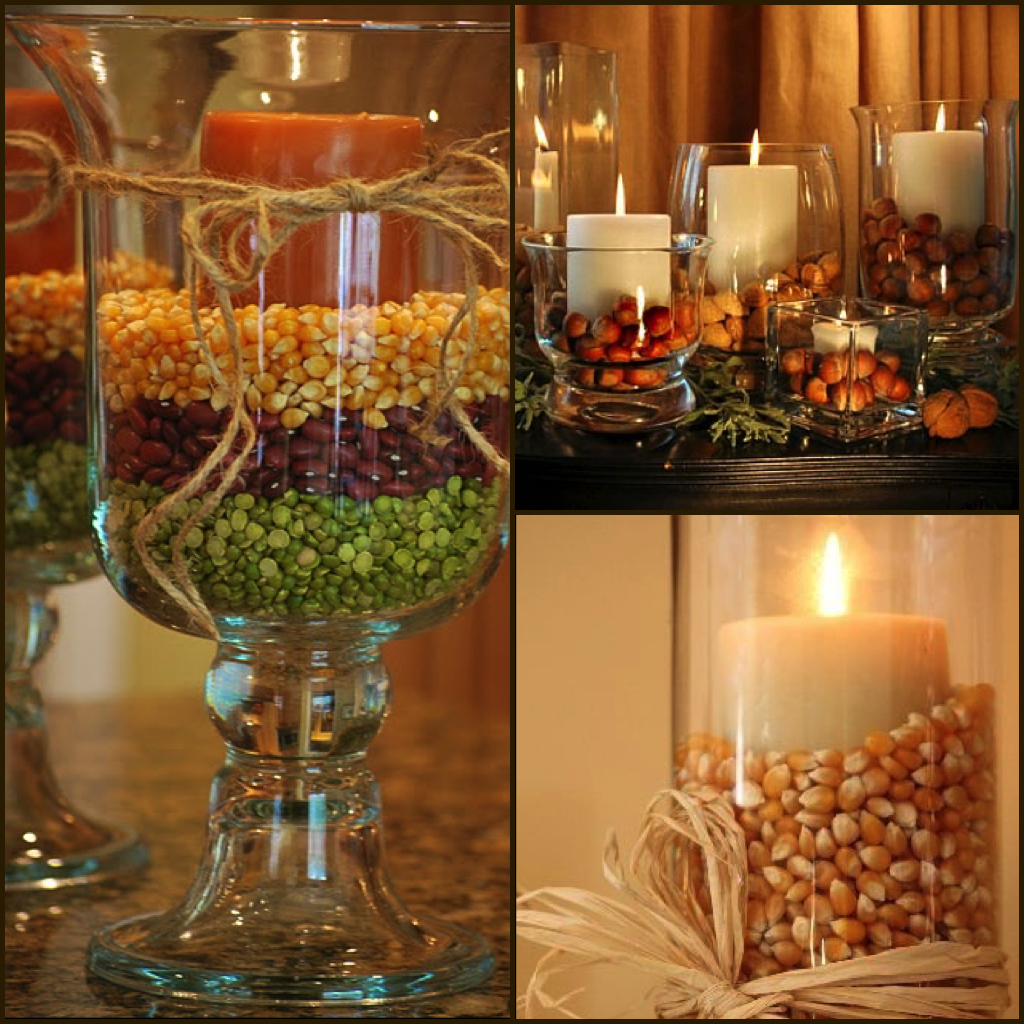 Thanksgiving centerpieces using mason jars easy craft ideas