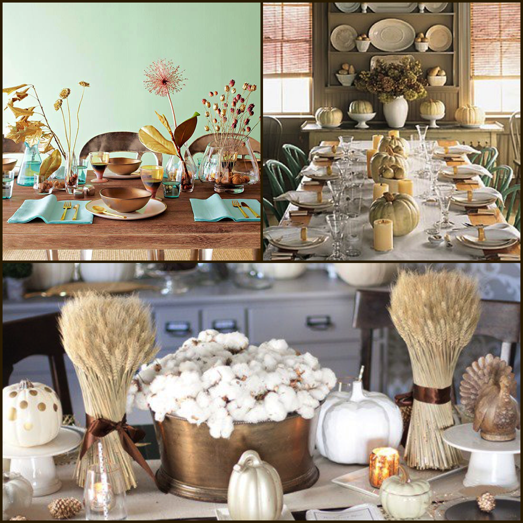 32 Stylish Dining Room Ideas To Impress Your Dinner Guests: 7 Centerpiece & Decoration Ideas To Impress Thanksgiving