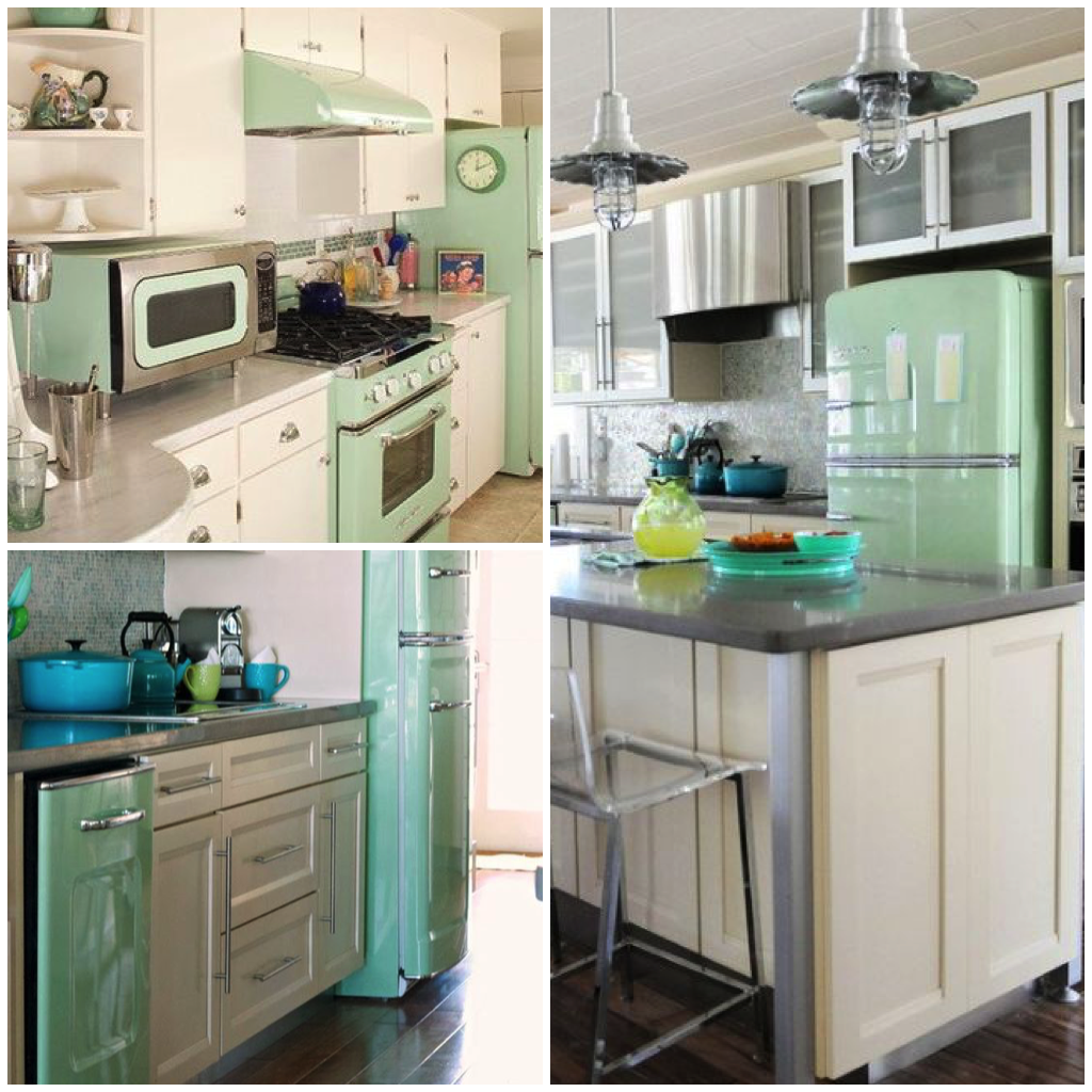 If You Have A White Kitchen, The Addition Of A Green Appliance Invokes  Feelings Of Awareness, Refreshment, And Revitalization.