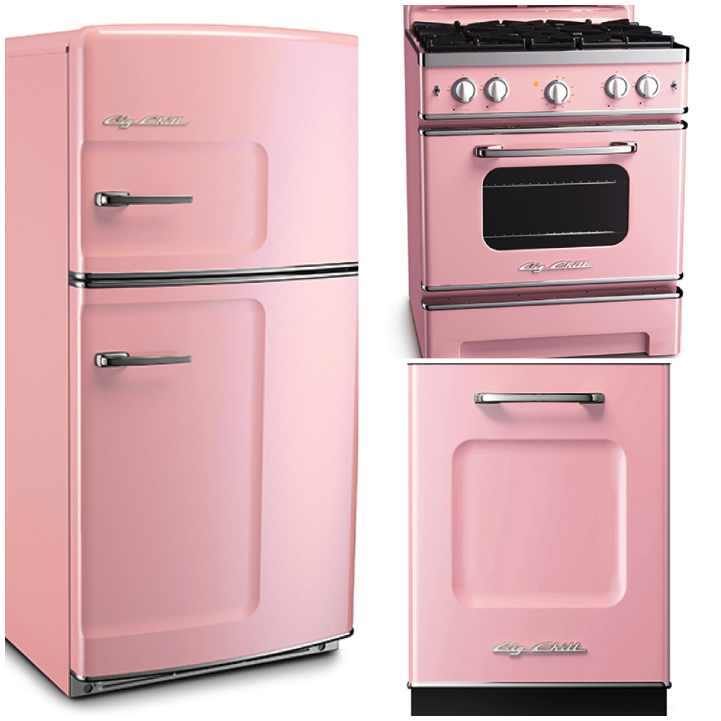 Pale Pink Appliances Were Popular In Homes Of The 1950s, Often Accompanied  By White, Green, Or Gray Decor.