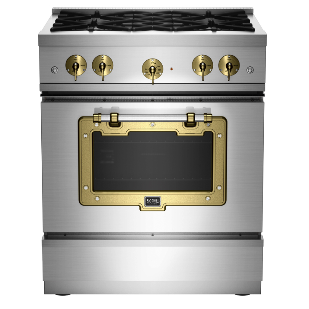 Big Chill Classic Stove in Stainless Steel