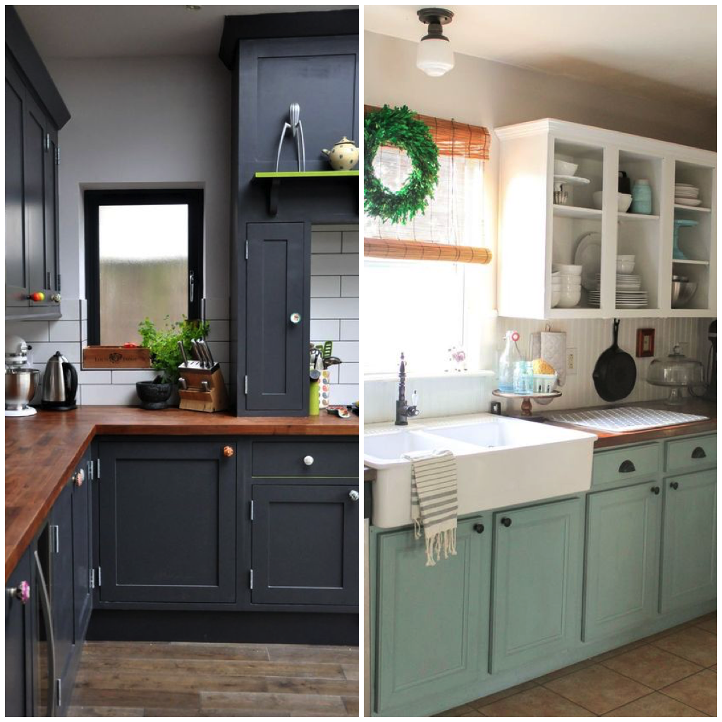 or adding new textures and materials to the existing structure  you can even build your cabinets up to the ceiling to add the illusion of height  and     8 achievable ways to give your kitchen a facelift  rh   bigchill com