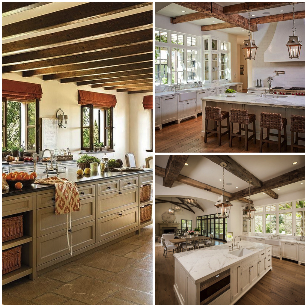 ... country kitchens and can be showcased in a variety of different ways. Exposed ceiling beams wooden countertops or wooden furniture are great ways to ... & 8 Character Traits of a Classic Country Kitchen