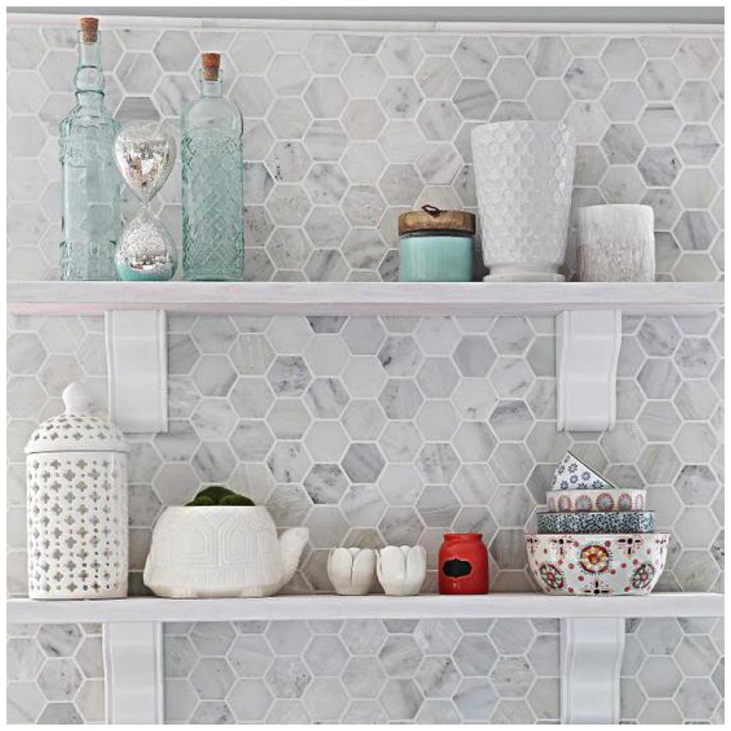 Hexagonal Tile - Big Chill