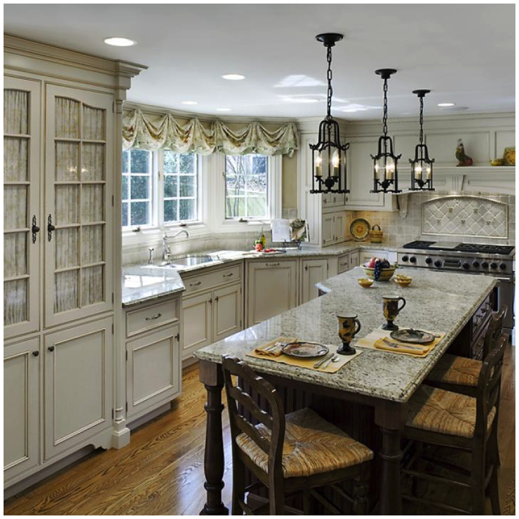 Country Kitchens Are Also No Stranger To Deep Tones Like Cabernet, Or Rich  Tones Like Espresso Brown Or Hunter Green.