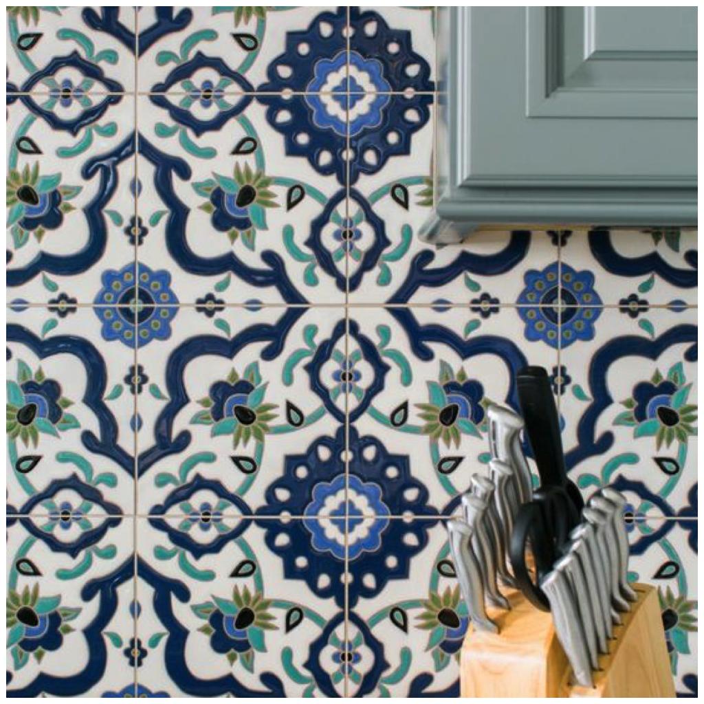 Patterned Tile - Big Chill