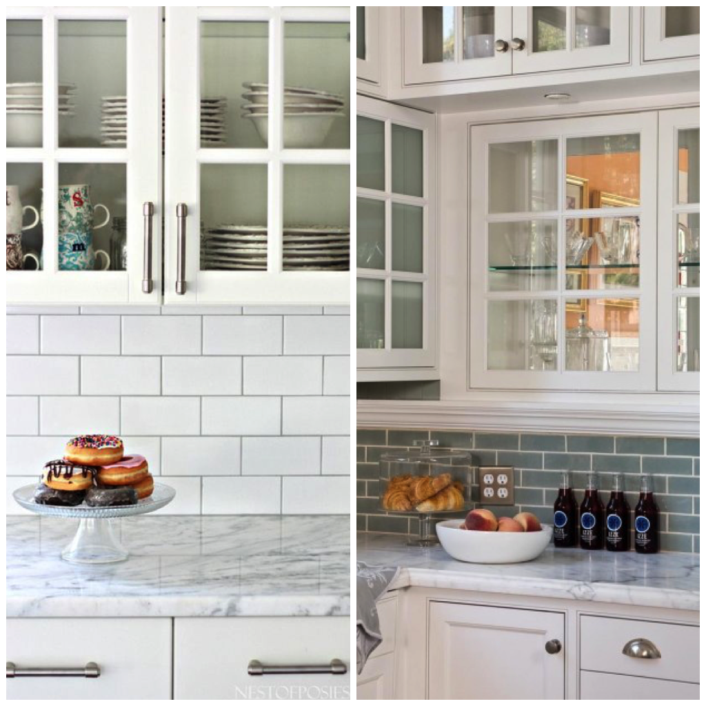 6 elegant varieties of kitchen backsplash tile big chill try using subway tile all the way to your kitchen ceiling to give the pattern a more contemporary look or arrange it behind your stovetop for a traditional dailygadgetfo Gallery